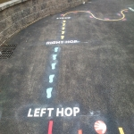 Colourful Playground Hopscotch Designs in Abinger Hammer 6