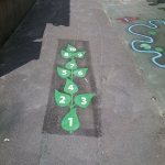 Play Area Marking Specialists in Bank Fold 3