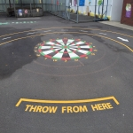 MUGA Court Markings Design in Alpheton 2