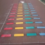 Soccer Pitch Line Painting in Aberlerry 3