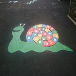 Play Area Marking Specialists in Ayton 7