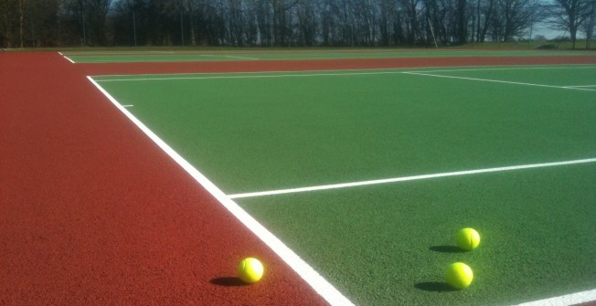 Cleaning Tennis Surfacing  in Garth