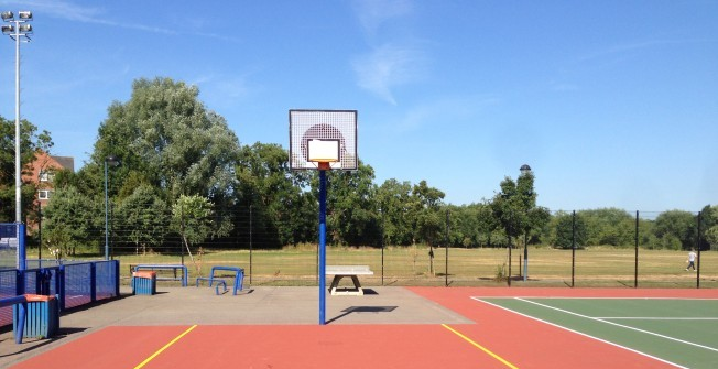 Basketball Court Paint Specialists