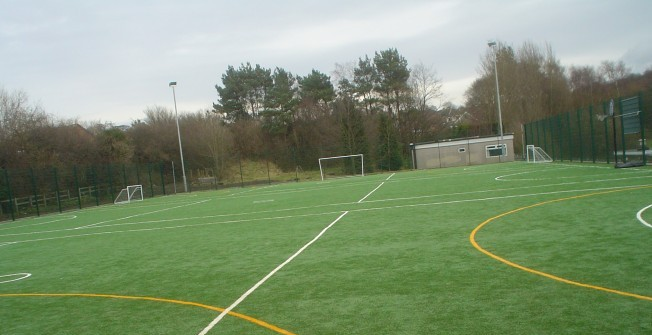 Sports Pitch Maintenance in Aberlerry