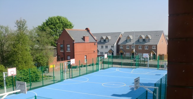 Basketball Court Marking Contractor