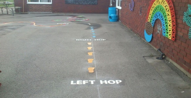 Playground Floor Marking Specialists