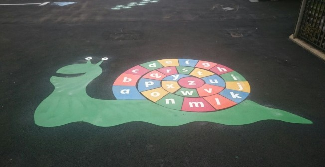 Tarmac Play Area Graphics in Catacol