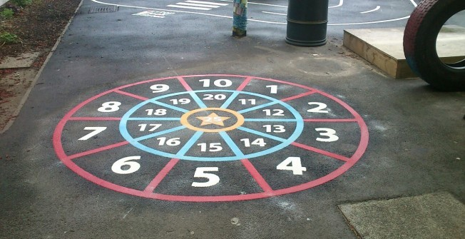 Traditional Games Markings in Acton Place