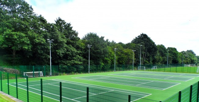 Schools MUGA Lining Specialists in Arborfield Cross