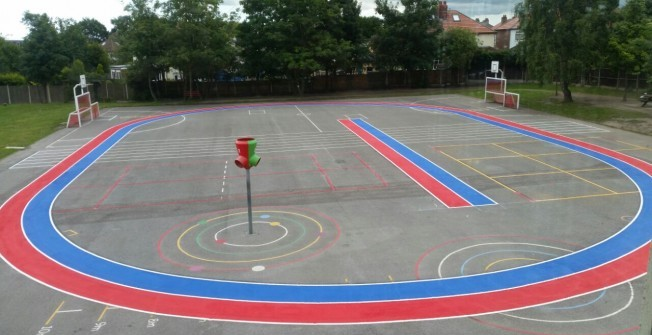 Play Area Designs in Beamhurst Lane
