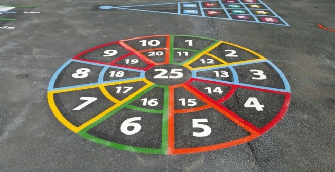 Number Graphic Installation in Devon Village