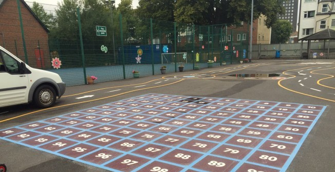 Playground Marking Design in Blackheath