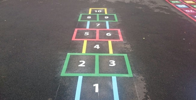 Surface Markings for KS2 in Carrickfergus