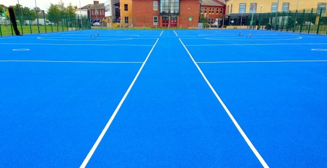 Maintaining Netball Surfacing  in Worcestershire