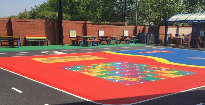 Playground Tarmac Surface Designs in Catacol