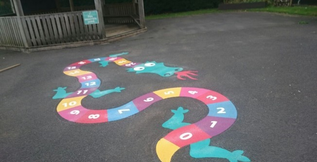 Playground Marking Experts in Broom Hill